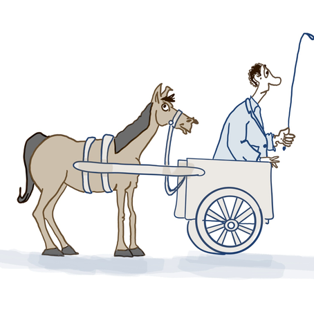 Let's not put the cart before the horse!
