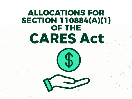 CARES Act Allocations