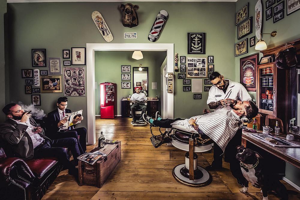 Barbería Siglo XXI.