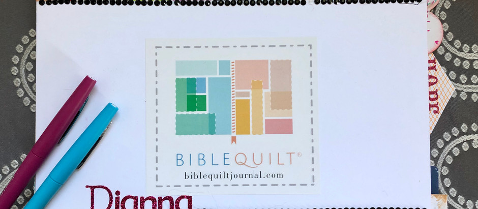 The Story of the Bible Quilt®️ journal