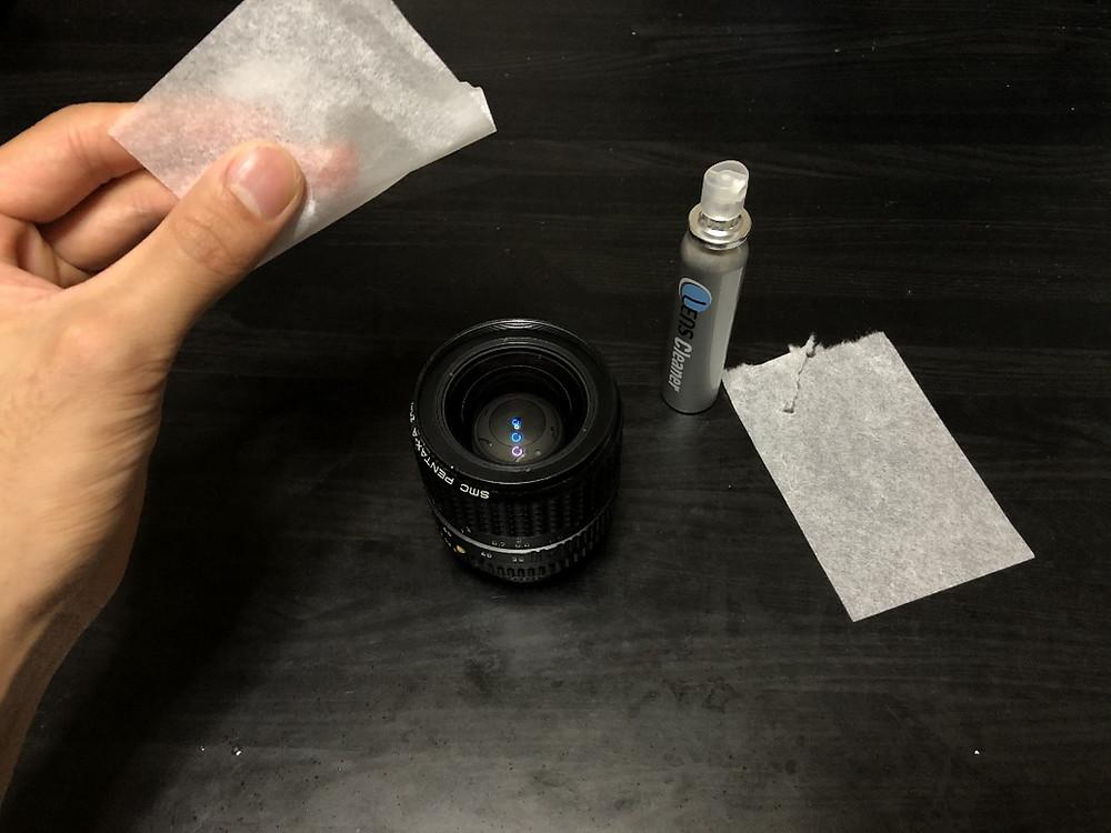 レンズクリーニング ペーパー
