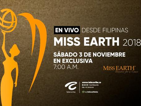 Comunicado 76:  En exclusivo por Telecaribe Miss Earth.