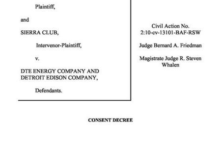 DTE and DOJ to settle Monroe CaseMay 19, 2020|Eric L. Hiser
