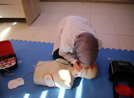 ACLS training which covered lifesaving BLS skills