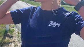 Træningsweekend i TeamAllOut / Trainingweekend in TeamAllOut (In Danish)