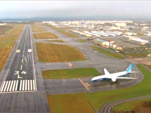 [Aviation Events] Boeing 777X First Flight