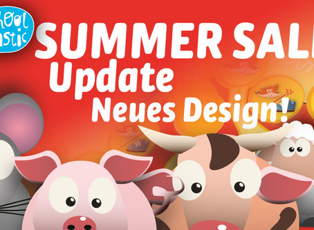 Summer Sale! Update! Neues Design!