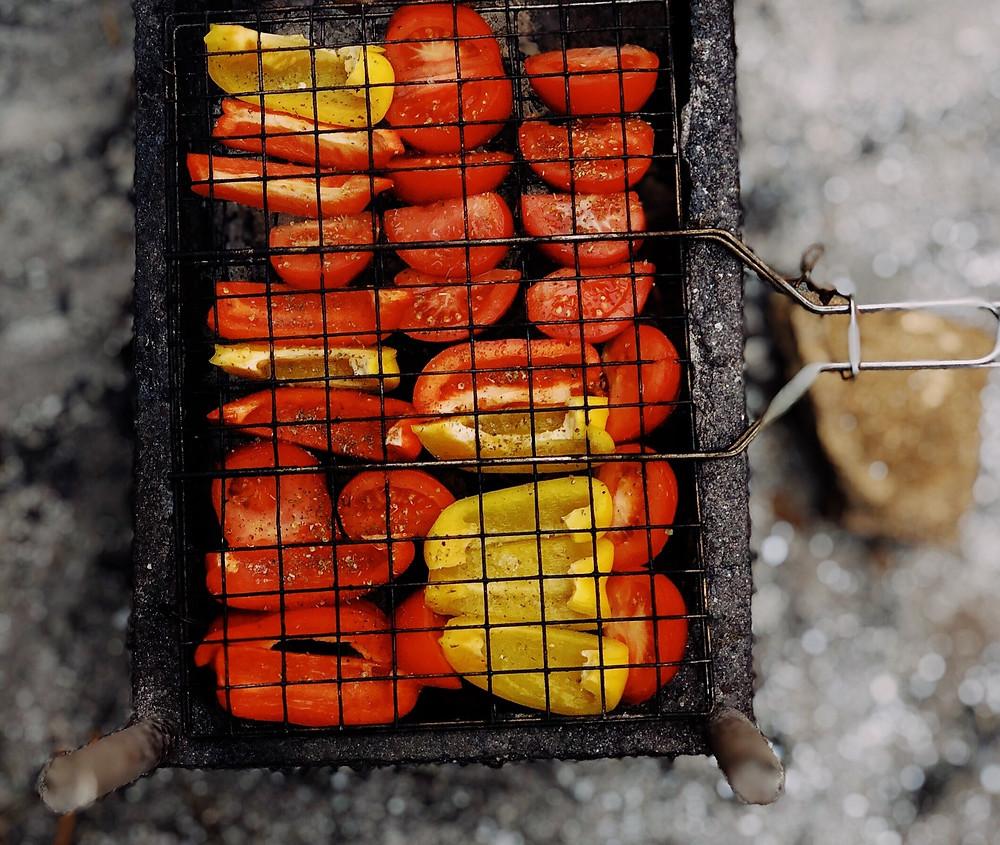Kepti pomidorai, vmg receptas