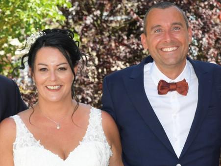 Remerciement de Dorianne, mariée le 29 juin 2019