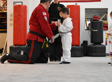 Richland Center - Little Ninjas February Test