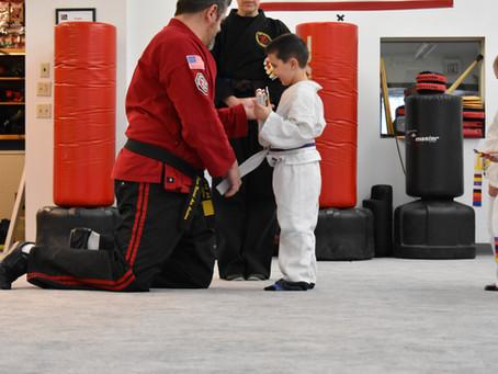 Richland Center - Little Ninjas February Test