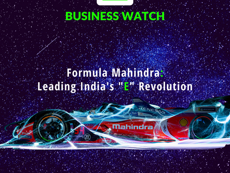 "Formula MAHINDRA: Leading India's ""E"" Revolution"