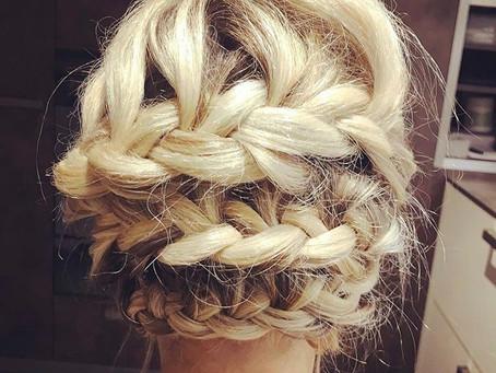 Une coiffure romantique