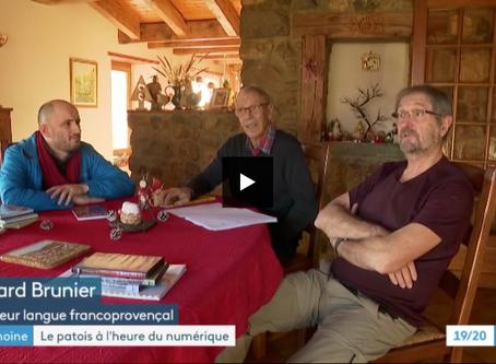 Sauvegarde de la langue savoyarde : les médias en ont parlé !