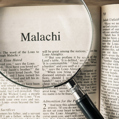 The Book of Malachi | Week One