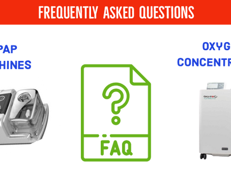 Frequently Asked Questions on Oxygen Concentrators and CPAP Machines