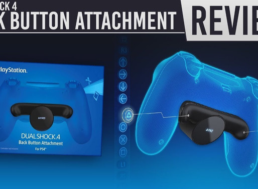 Струва ли си? Dualshock 4 back button attachment