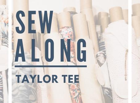 Sew Along with ALD -- Meyraki Taylor Tee!