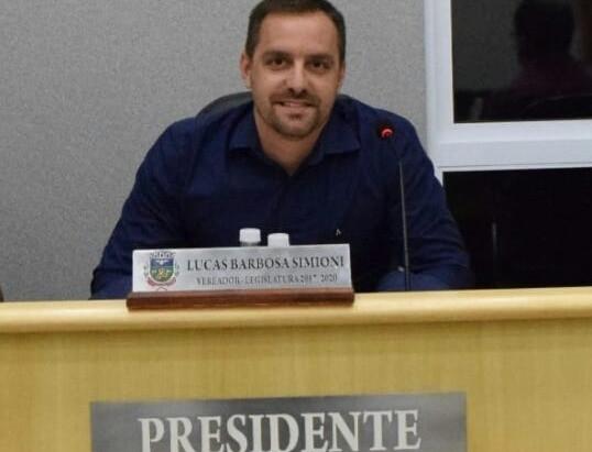 Lucas Simioni é o novo presidente da Câmara de Holambra