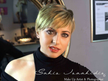 MakeUp is Art, Beauty is spitit! MakeUp Courses @Sakis Isaakidis MakeUp Artist School