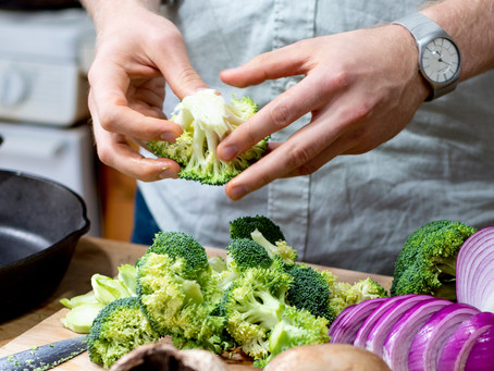 Falling in Love with Veggies: 5 Tips for Cooking Pleasurable & Nourishing Meals