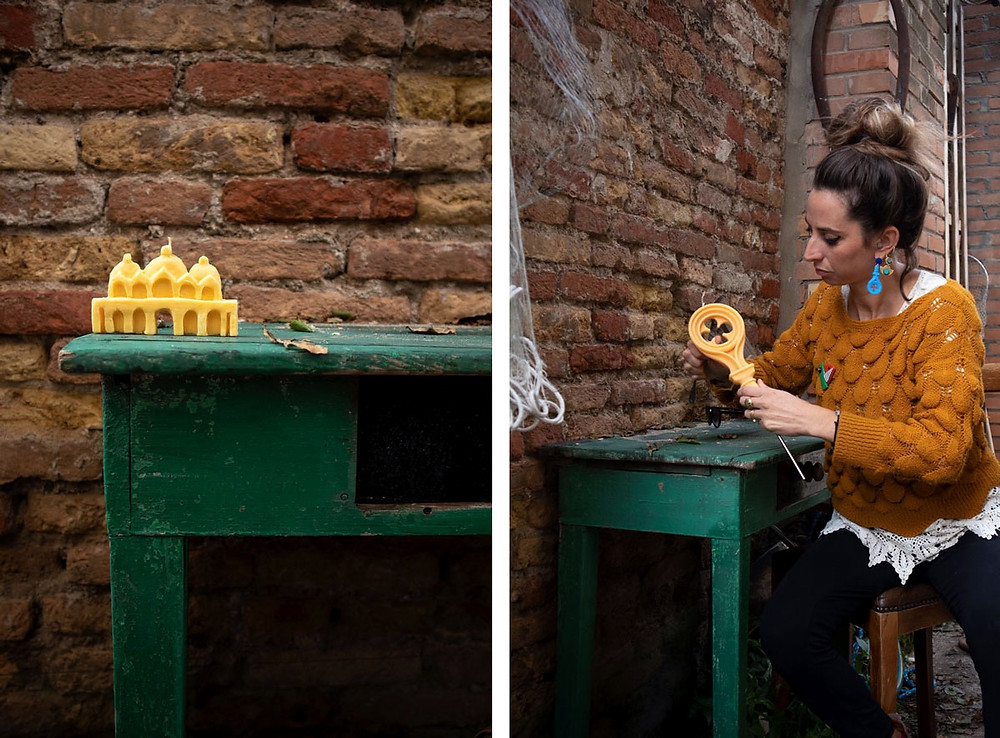 Candles and other craft objects Made in Venice Italy | Eat-and-Run