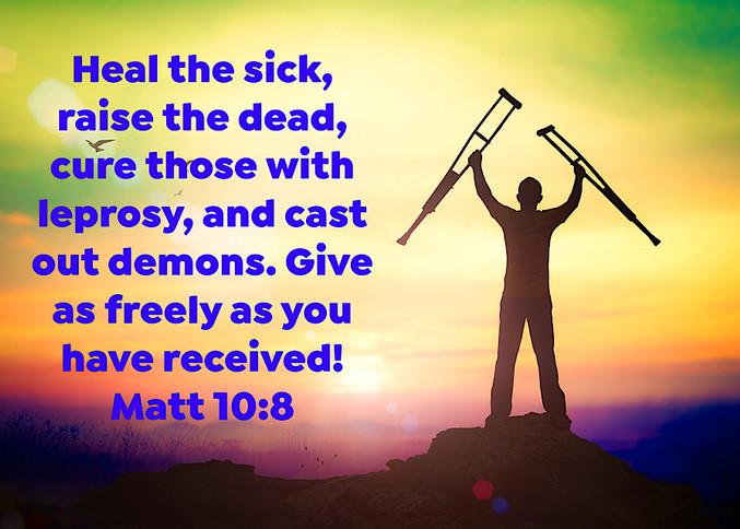 Gift of Healing