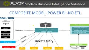 Power BI Composite Model , No ETL Business Intelligence Solution
