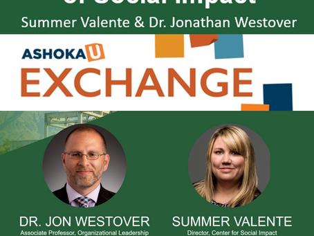 "Ashoka Exchange: ""Expanding Our Vision of Social Impact"""
