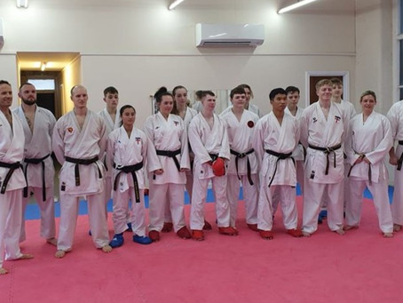 Record number of members from York Karate selected for the JKS England Squad