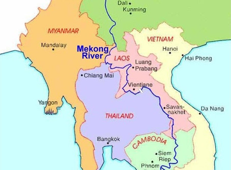 Adaptation of rice cultivation in the Mekong gulf
