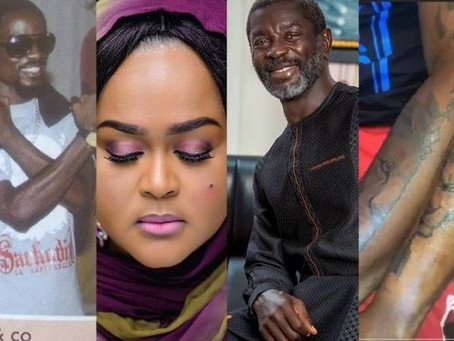 Star snaps: Celebrity Eid photos, Fella and Medikal's matching tattoo, Sarkodie's '&Co' tag and more