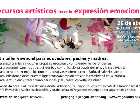 Taller de recursos artísticos para la expresión emocional