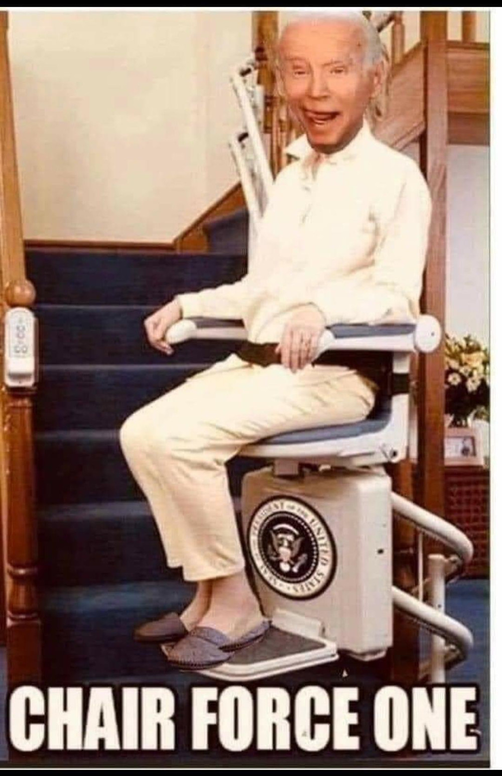 Chair force one Biden
