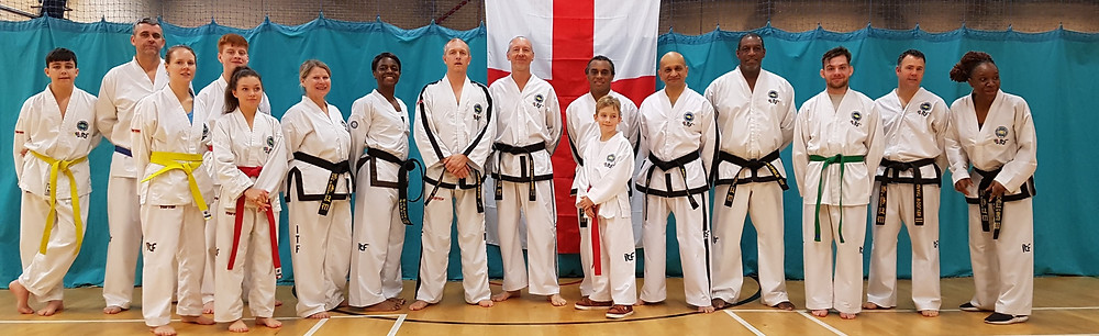 Banstead TKD and Extreme TKD Students and Instructors