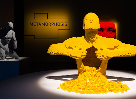Art of the Brick arrives at Union Station
