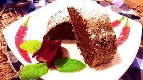 Brownies zčervené řepy
