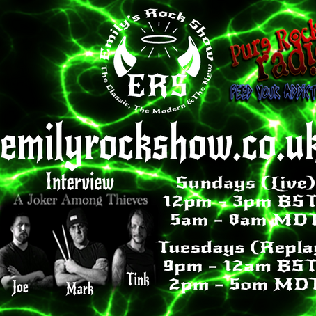 This Week On Emily's Rock Show (08/09 + 08/11)