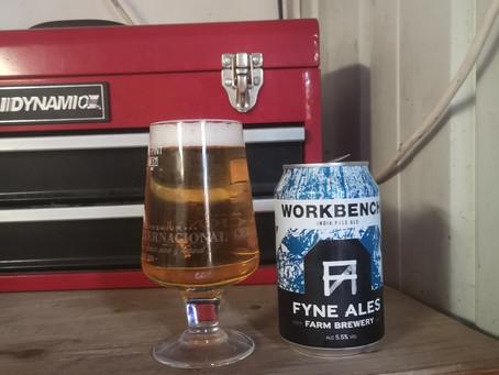 Blog #43 Fyne Ales - Workbench. Work hard, drink... Soft?