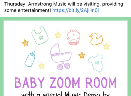 Baby Zoom Room Today 10:30 AM Zoom