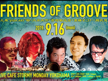 ''FRIENDS OF GROOVE''Live!