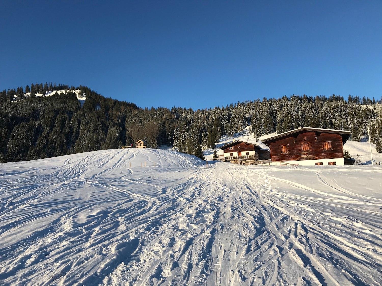 Falkenmoosalm, Skitour Juifen Achenkirch