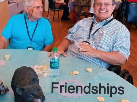 Socialization for seniors with dementia is important