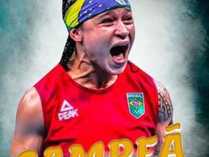 Beatriz Ferreira conquista título em torneio Internacional Bulgária