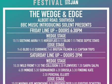 The Wedge/Edge Stage Times!