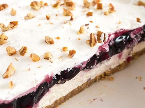 Blueberry Lush Dessert