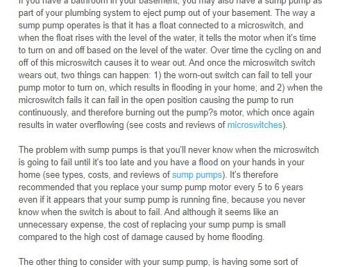 Is It Time to Replace My Basement Sump Pump?