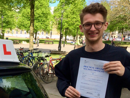 Well done Callum on passing your driving test so well. Many thanks for your kind Google review.