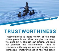 Trustworthiness the the October Theme