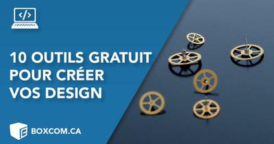 10 outils pour créer vous même vos design ! Créateur site web et design graphique à Québec